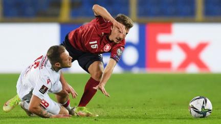 Naděje na druhé místo ve skupině trvá: Čeští fotbalisté porazili Bělorusko