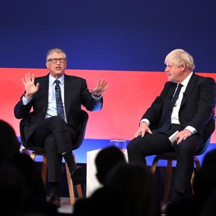 Bill Gates plánuje v Británii investovat do technologií šetrných k přírodě