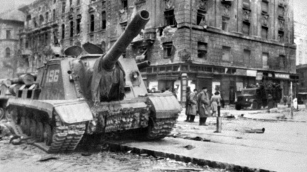Maďarské povstání před 65 lety rozstřílely sovětské tanky
