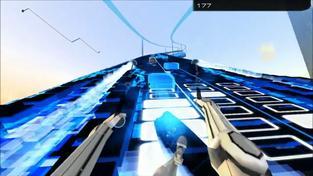 Audiosurf Air - záběry z hraní