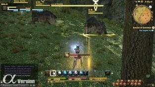 Final Fantasy XIV: A Realm Reborn - záběry z alfy