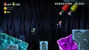 New Super Mario Bros U - kooperační trailer