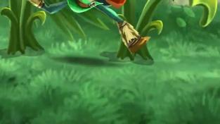 Rayman Legends - nová hratelná postava Barbara