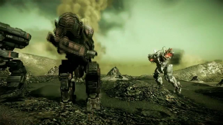 MechWarrior Online - Caustisc valley trailer