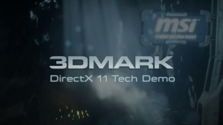3D Mark Directx 11 Tech Demo - video