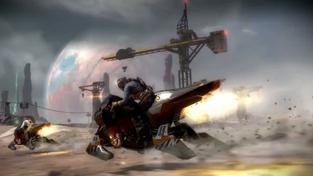 Starhawk - vehicles video #2