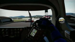 Project CARS - záběry z hraní s volantem