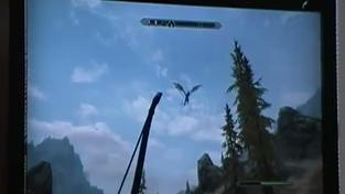 Elder Scrolls V: Skyrim - draci létající pozadu