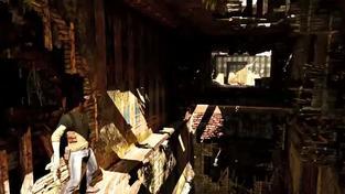 Uncharted 3: Drake's Deception - záběry z hraní - zámek