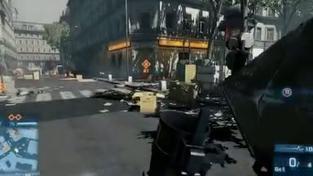 Battlefield 3 - ukázka destrukce prostředí z X360