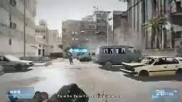 Battlefield 3 - záběry z mise Fault Line na X360