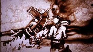 Uncharted 3: Drake's Deception - Písečné umění