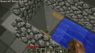 Minecraft - vodní výtah