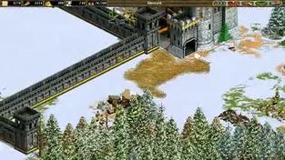 Age of Empires II: The Age of Kings - záběry z hraní