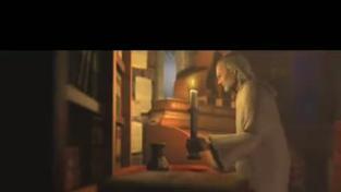 Posel Smrti - záběry z hraní