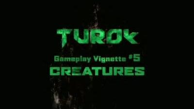 Turok creatures trailer