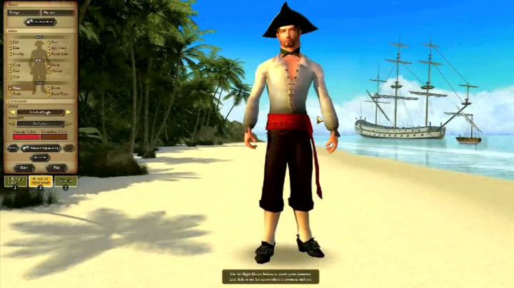 Pirates of the Burning Sea Characters trailer