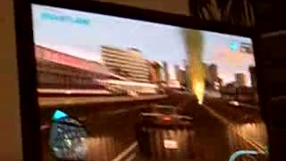 Midnight Club LA gameplay shakycam