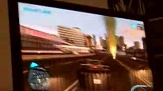 Midnight Club LA gameplay shakycam