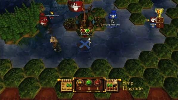Plunder záběry z hraní