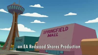 The Simpsons Game GTA trailer