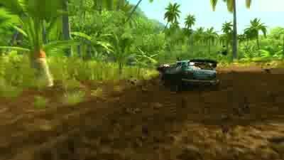 Sega Rally launch trailer