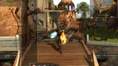 Silverfall Earth Awakening interface video