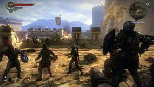 Zaklínač 2 - záběry z úvodní bitvy