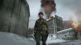 Call of Duty: Black Ops - First Strike Berlin Wall mapa