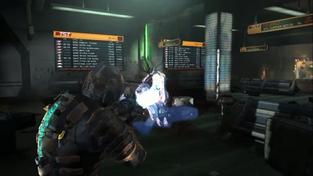Dead Space 2 - záběry z mise ve vlaku