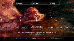 The Elder Scrolls V: Skyrim - kouzla naživo