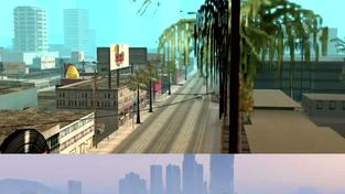 Grand Theft Auto V trailer v grafice GTA: San Andreas