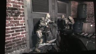 Call of Duty: Modern Warfare 3 - záběry z úrovně v metru