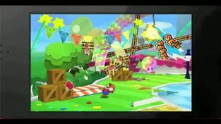 Paper Mario 3DS - TGS 2011 video