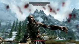 The Elder Scrolls V: Skyrim - 20 minut záběrů ze hry část 3.