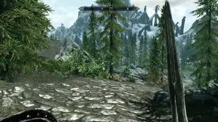 The Elder Scrolls V: Skyrim - 20 minut záběrů ze hry část 1.