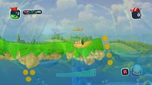 Worms: Crazy Golf - Gameplay