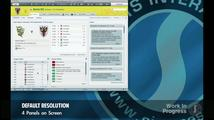 Football Manager 2012 - ukáza rozhraní
