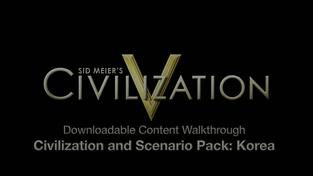 Civilization V - Korea trailer