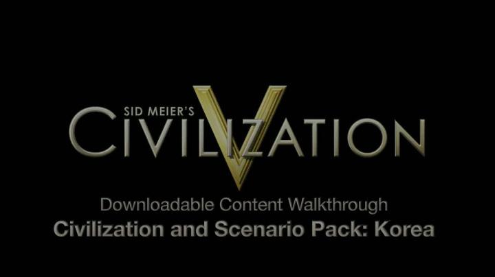Civilization V - Korea trailer