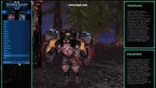 World of StarCraft - záběry ze hry