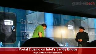 Portal 2 - Intel Sandy Bridge video