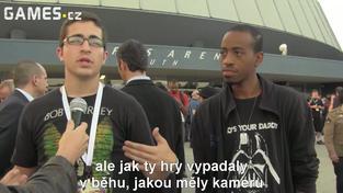 E3 2012 videoblog - reakce zahraničních novinářů na Sony