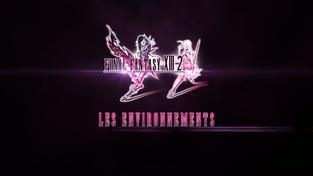 Final Fantasy XIII-2 - Prostředí