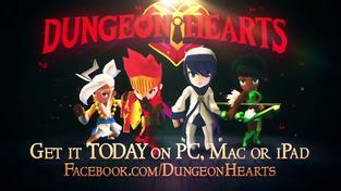 Dungeon Hearts - launch trailer