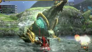 Monster Hunter 3: Ultimate - záběry z hraní