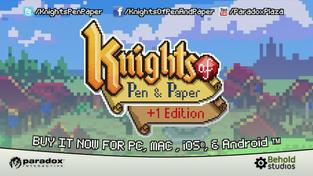 Knights of Pen & Paper +1 Edition - oldchool trailer