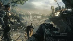 Call of Duty: Ghosts - záběry ze hry se psem