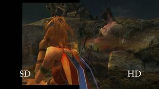 Final Fantasy X HD - porovnání HD a SD