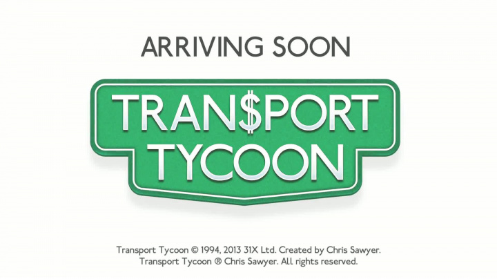 Transport Tycoon - upoutávka